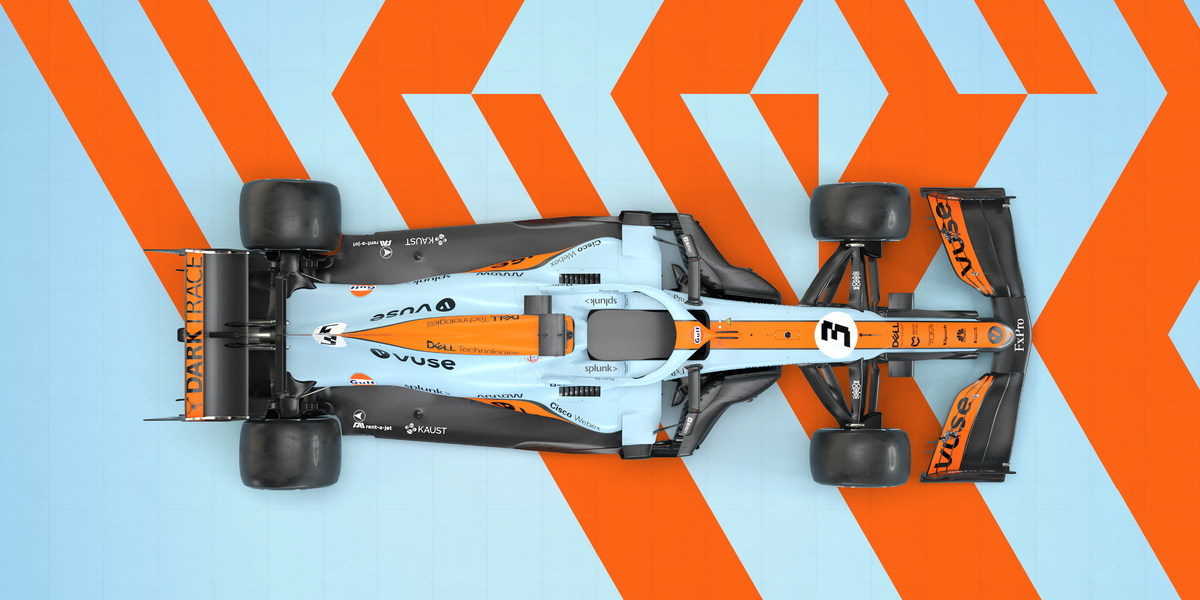 How McLaren F1 changes its livery for the Monaco Grand Prix
