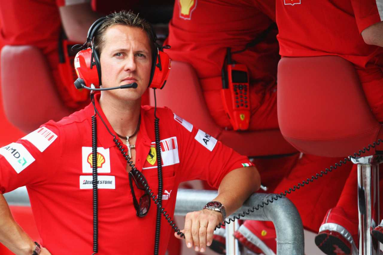 McLaren boss Andreas Seidl remembers his first meeting with Michael Schumacher