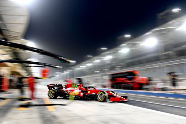 Scuderia Ferrari - 115 laps on the first day of testing with the SF21 for Leclerc and Sainz