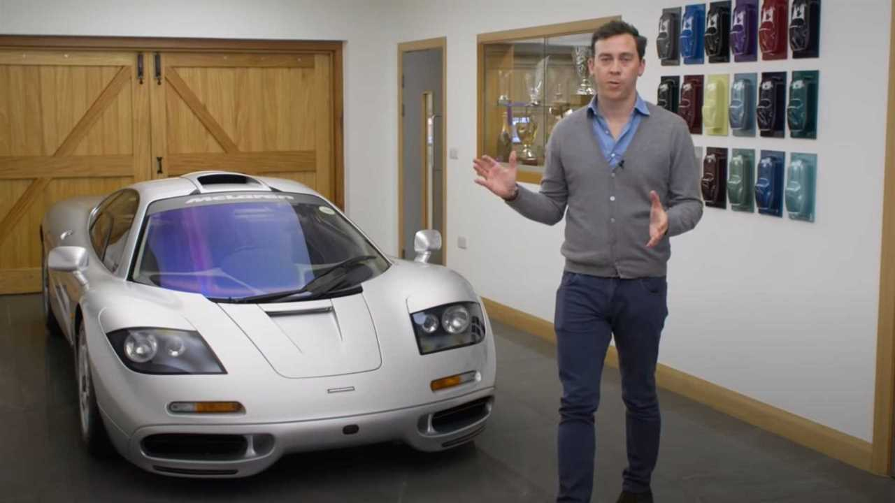 McLaren F1 Owner's Manual Video is supercar perfection