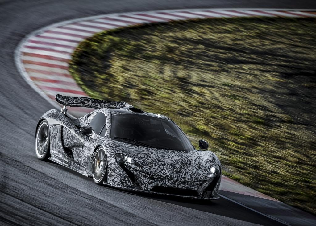 Der McLaren P1 tritt in die Fußstapfen des legendären McLaren F1.  Bild mit freundlicher Genehmigung von McLaren Applied.