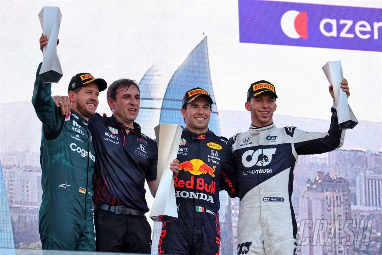F1 driver ratings from the Azerbaijan Grand Prix 2021 |  F1