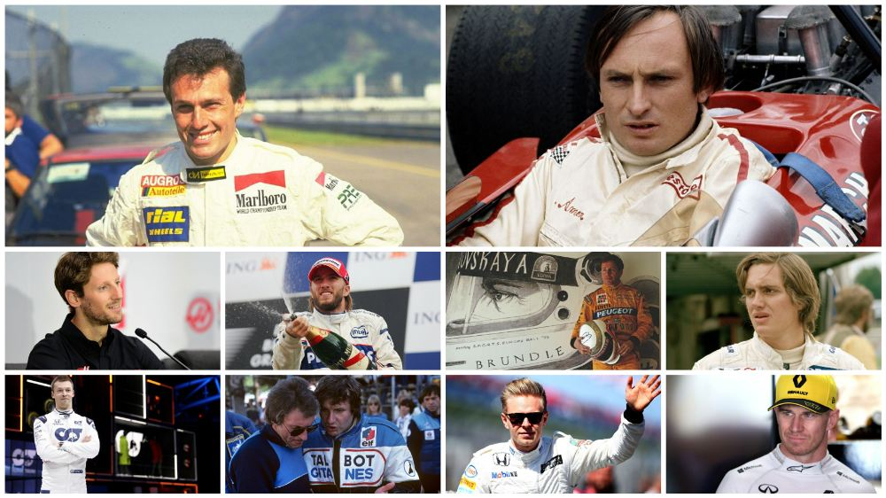 Ranking of the top 10 F1 drivers who never win a race