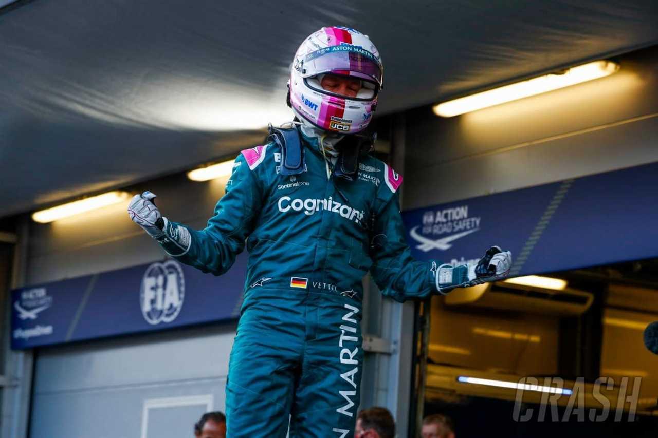 "Vettel ""reborn"" after the first F1 podium for Aston Martin in Baku - Brawn |  F1"