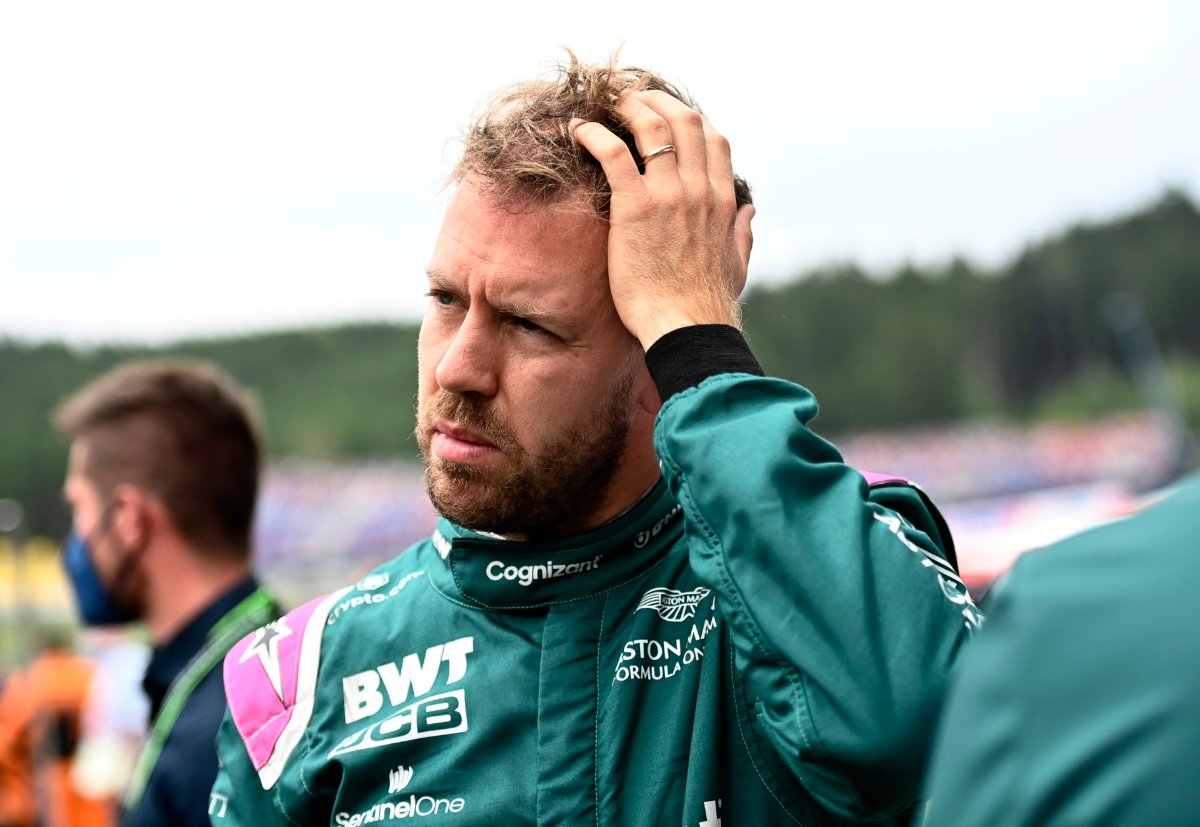 Sebastian Vettel shows humility and class despite a collision with Kimi Räikkönen in the last lap of class