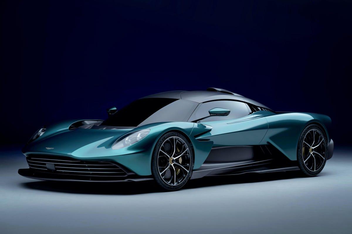 Aston Martin unveils 937 hp Valhalla hybrid supercar