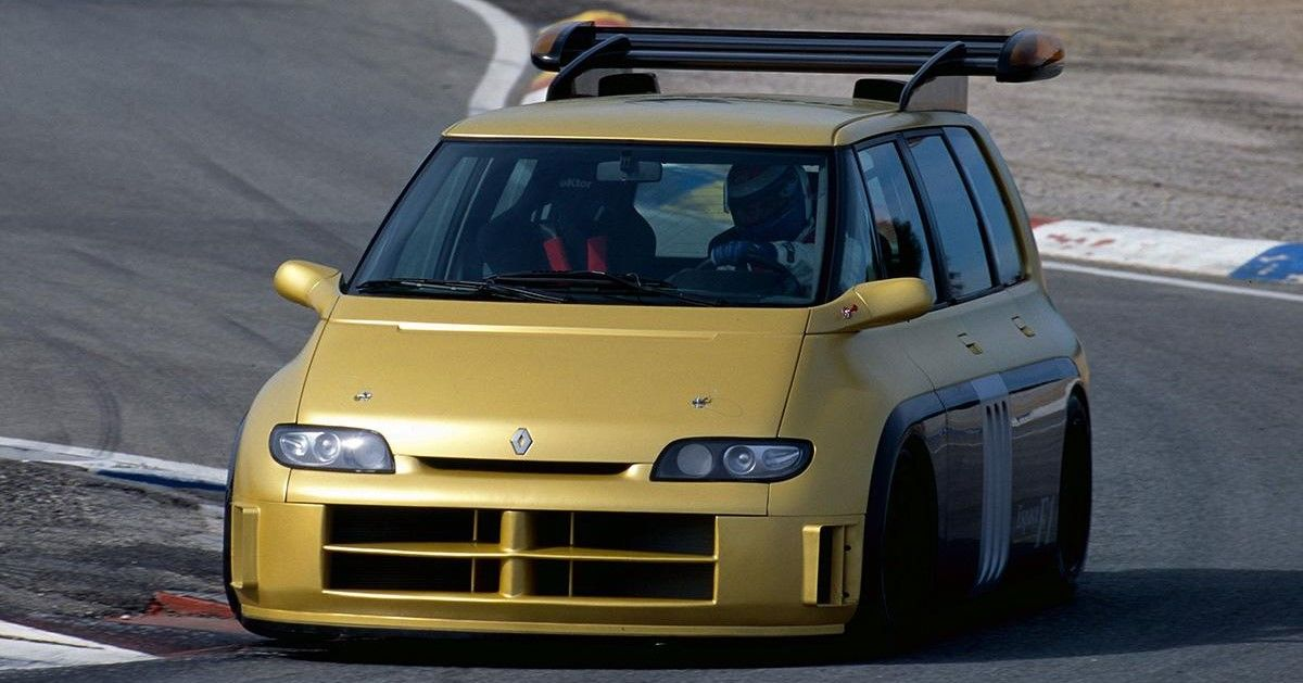 Check out this soccer mom's minivan that became the F1 car