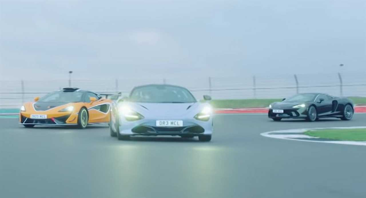 McLaren's F1 drivers compete against their boss in the brand's street cars