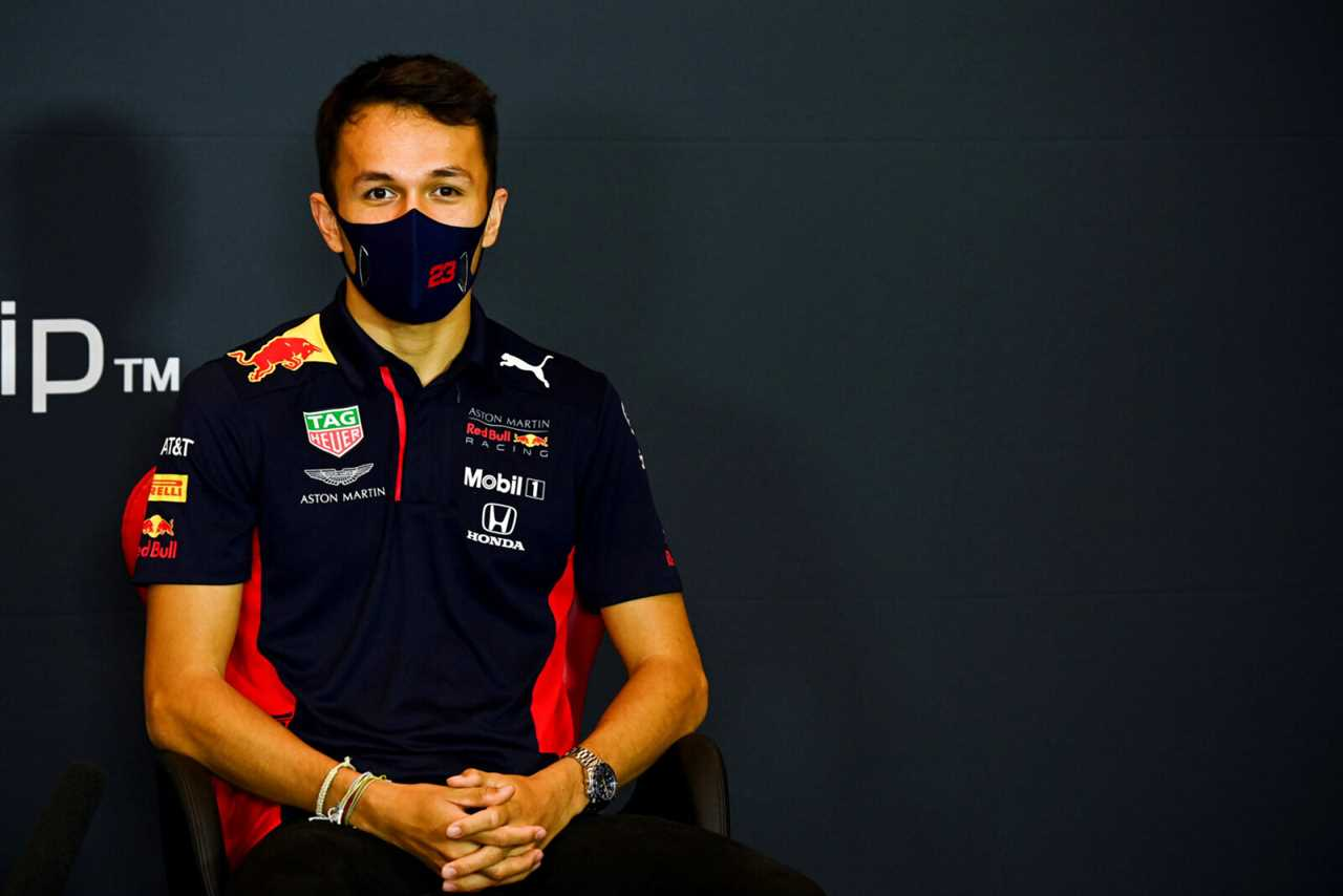Alexander Albon reveals an important factor in deciding between Alfa Romeo and Williams F1 for 2022