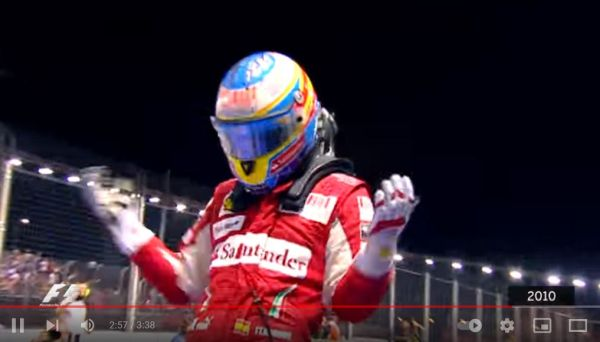 The week from 22 to 26 September in Scuderia Ferrari history - with video