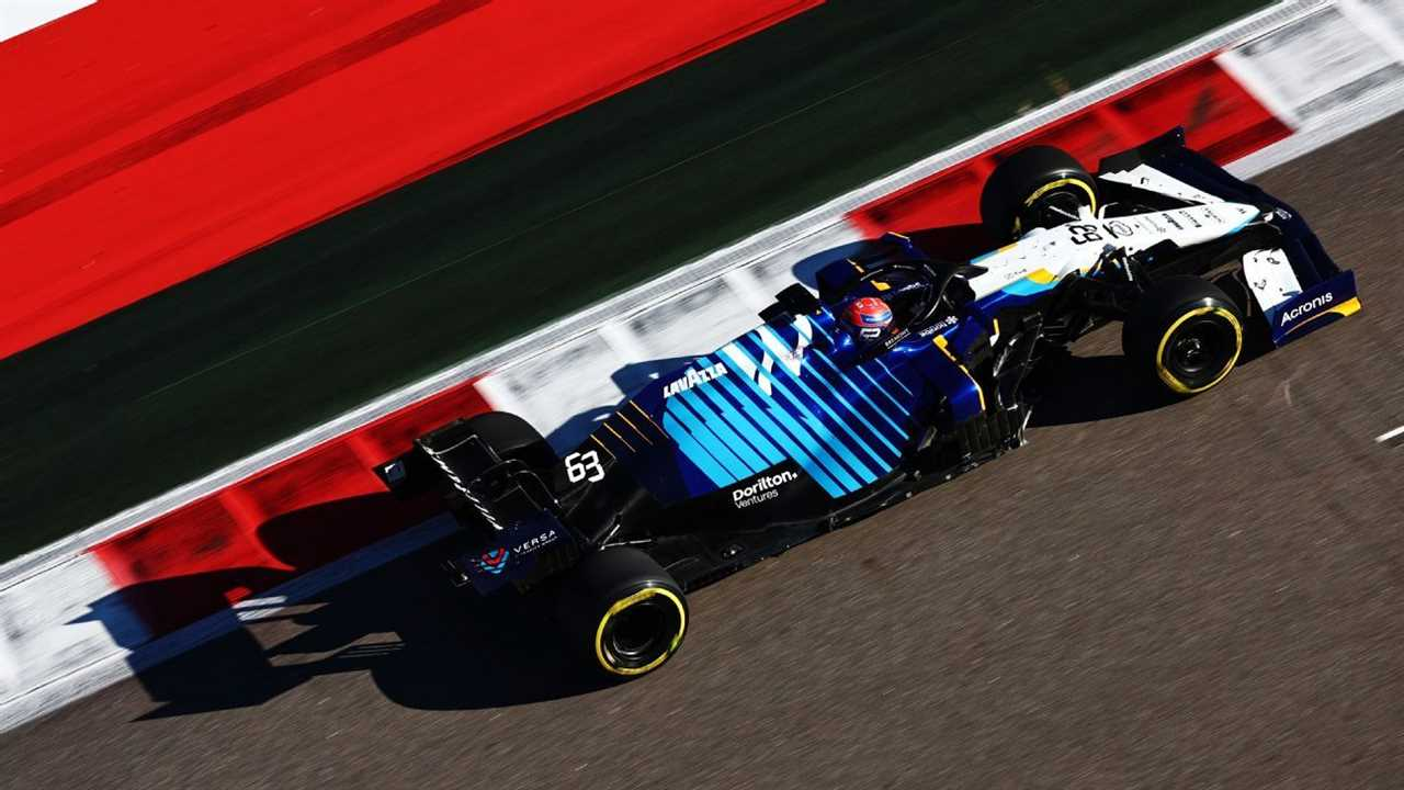 Williams F1 team sets climate positive target for 2030
