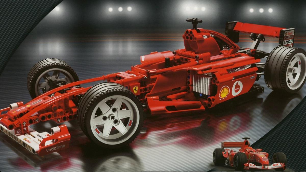 LEGO Racers 8386 Ferrari F1 Racer 110 Featured