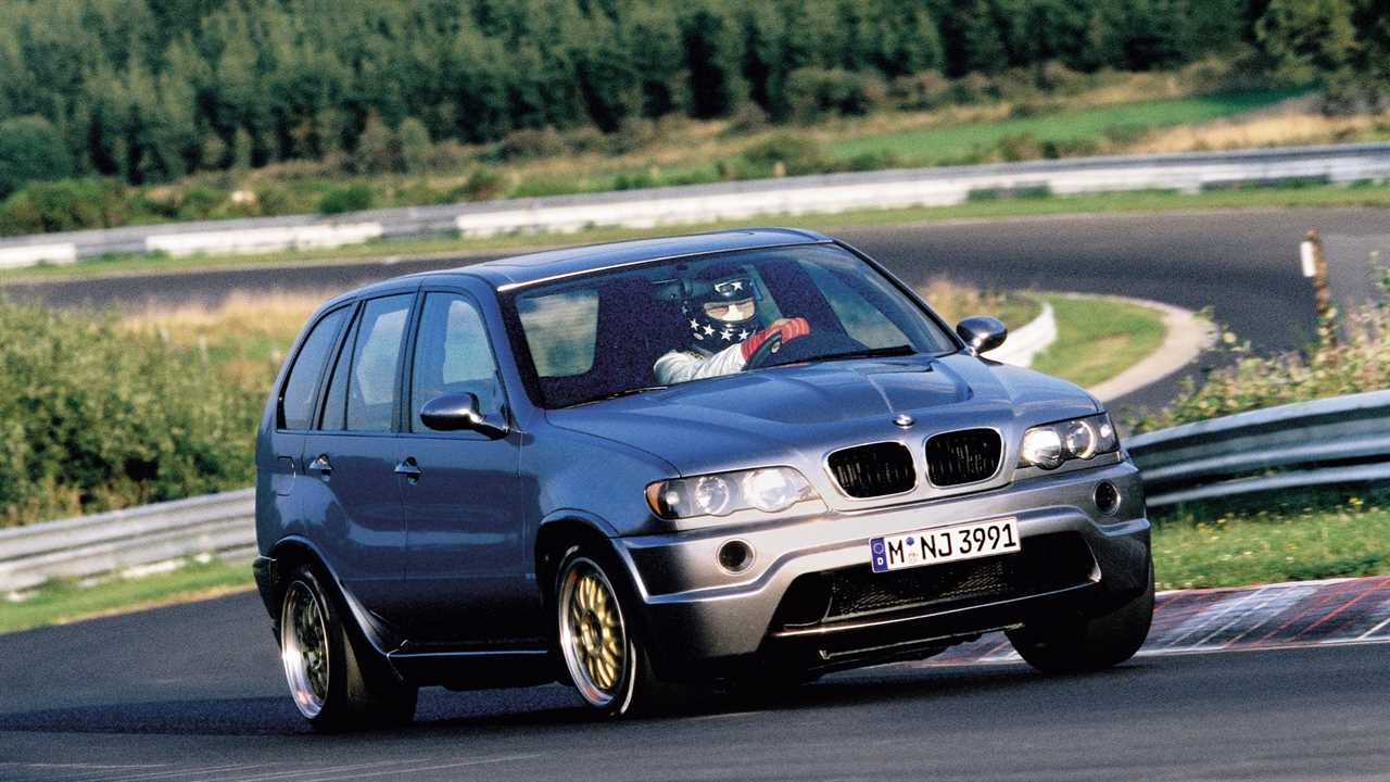 There's a BMW X5 with a 700 hp McLaren F1 V-12 under the hood